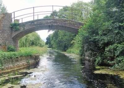 Small stone bridge on Barrow Navigation.