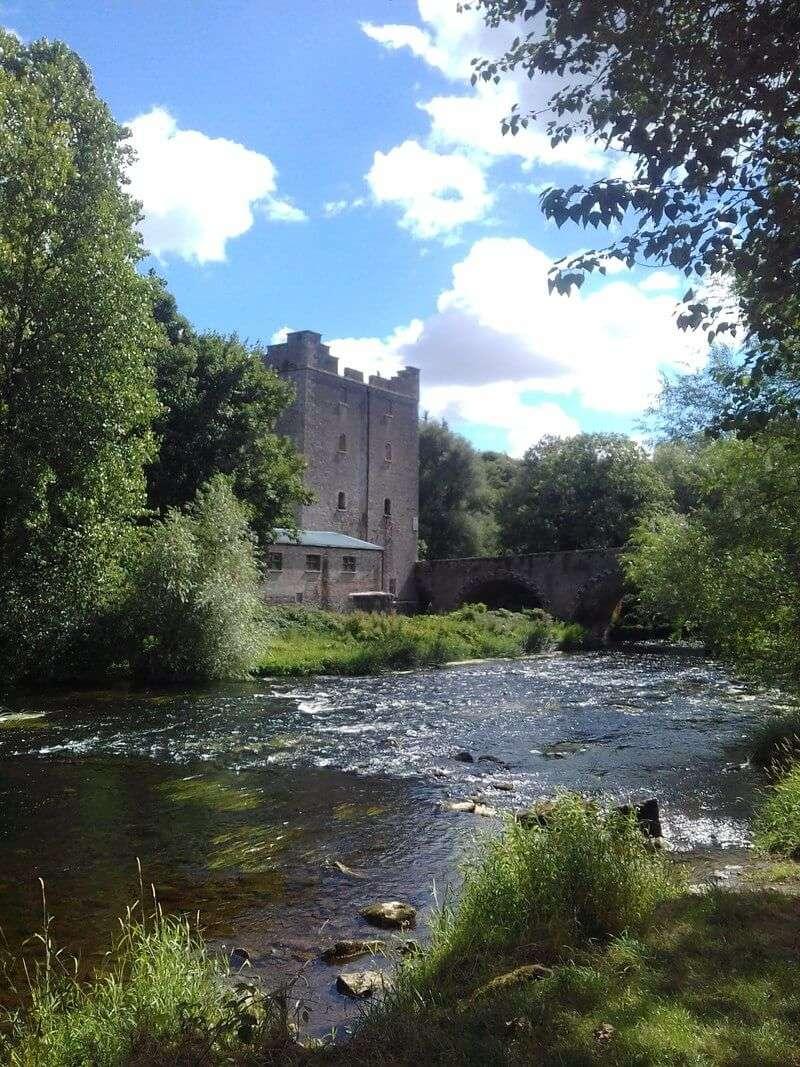 Old flour mill on river Barrow