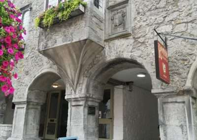 Archway to Rothe House