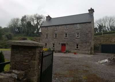 Mill House on the river Nore at Summerhill, county Tipperary