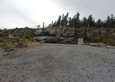 The site at Mass Rock at Gorteenshingaun in county Tipperary