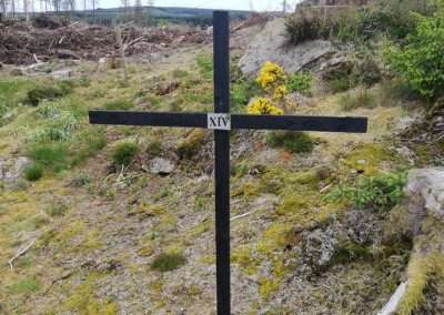 Cross at Gorteenashingaun in county Tipperary