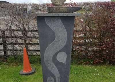 Monument in Clonakenny on the river bank of the Nore