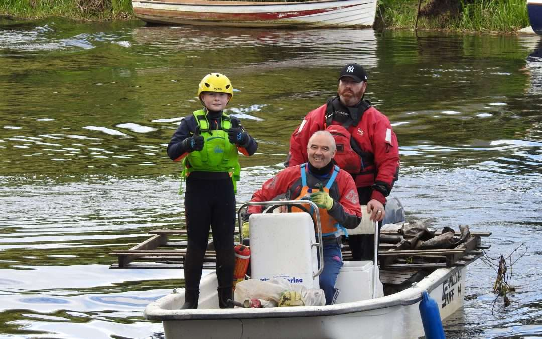 Athy River Barrow Clean-Up